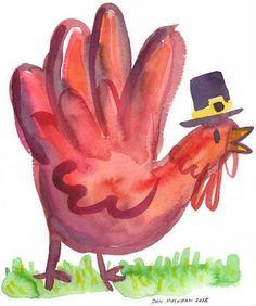 hand turkey More