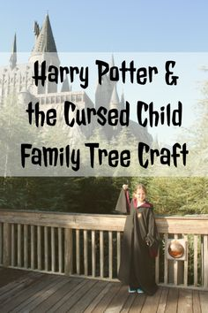Easy DIY Harry Potter and the Cursed Child Family Tree Craft