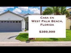 Casa con vista al lago en West Palm Beach, Florida. 3 hab, 2 baños $389,999 - YouTube West Palm Beach, Florida, Outdoor Decor, Youtube, United States, The Florida, Youtubers, Youtube Movies