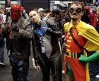 [Self] Red Hood Nightwing and Robin at C2E2
