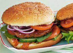 Lamm-Burger