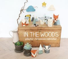 IN THE WOODS / PLAYFUL CHRISTMAS CALENDAR