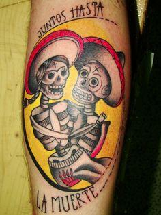 Mexican tattoo Art