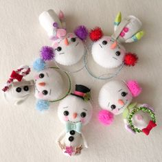 Gingermelon Dolls: New for the Holidays - Snowbies Pattern!