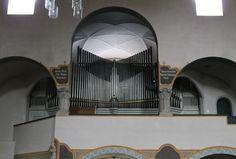 Muenchen Erloeserkirche Steinmeyer-Orgel - Erlöserkirche (München) – Wikipedia