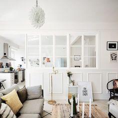 Beautiful light apartment now on gravityhomeblog.com. image by @fotografanders…