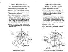 Washburn Wonderbar - Install Instructions (Page 2)