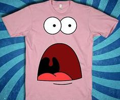 What has Patrick so shocked -- Have they stopped selling those delectable Krabby Patties? The shocked Patrick shirt portrays our favorite starfish with an...