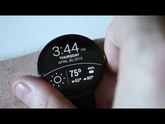 My favorite Android Wear watchfaces! (Moto 360 and Facer) - YouTube