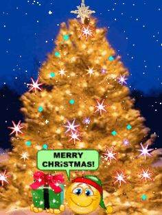 animated wallpaper screensaver 240x320 for cellphone merry christmas animated christmas tree christmas scenes - Animated Christmas Trees