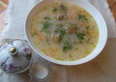 Суп с фрикадельками по - польски