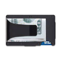 Ridge Wallet Aluminum Wallet + Money Clip