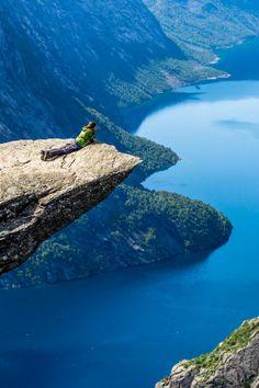 Fiordo Noruego (me puede encantar el paisaje).