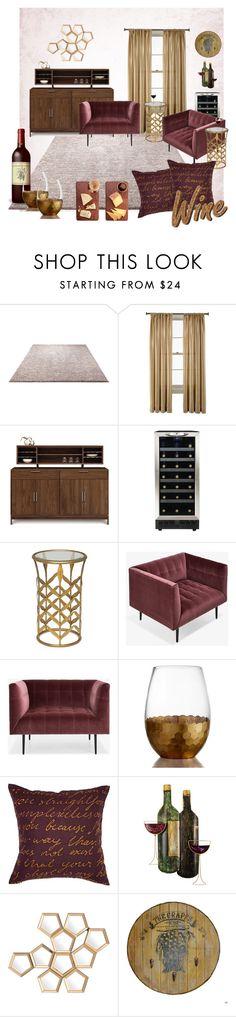 Wine & Cheese by suziq-lthrs on Polyvore featuring interior, interiors, interior design, home, home decor, interior decorating, Copeland Furniture, Maitland-Smith, ADAM and ESPRIT