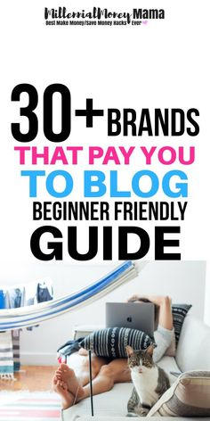 Whoa! These companies actually pay you to blog?