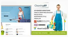 10 best cleaning website templates cool themes themes free house