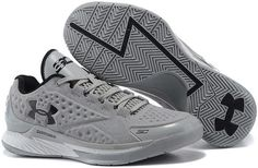 Under Armour Curry One Low Dark Grey Black Shoes