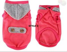 Dog sweater/ Small dog clothes Cat Pet clothe/ 5 Styles
