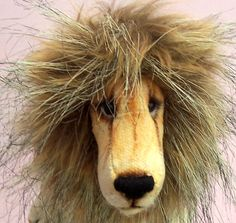 Charlie Lion soft toy sewing pattern to make lion or by pcbangles