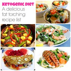 A list of the best Ketogenic Diet recipes! On www.mydreamshape.com