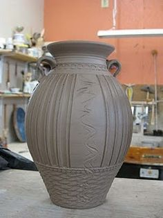 Love the decoration. #pottery