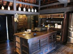 Old japanese kitchen