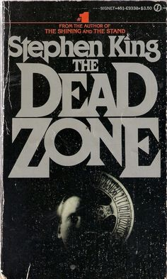 The Dead Zone. My most favourite Stephen King book. I've lost count of how many times I've read it. I Love Books, Good Books, Books To Read, Reading Books, Horror Fiction, Horror Books, The Stand Stephen King, The Dead Zone, Françoise Sagan