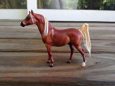 Breyer G1 Stablemate Arabian Stallion x JOHANNSEN Custom Model Horse - Vintage!