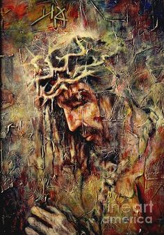 Yeshua Painting by Jesus Alberto Arbelaez Arce - Yeshua Fine Art Prints and Posters for Sale