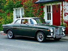 Rover Coupe 2 Door - 1970 - The only 2 Door ever produced. American Graffiti, Volvo, Car Rover, Jaguar, Classic Cars British, Automobile, Cars Uk, Classic Motors, Car Car