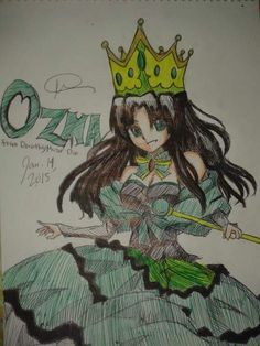 Ozma from Dorothy must Die by DanchouLoli-chi on DeviantArt