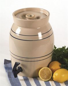 stoneware crock with spigot. Use for kombucha or vinegar making?