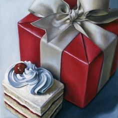 Jelaine Faunce - Choosing One Over The Other @@@@@.........http://es.pinterest.com/cri55/art-2-super-realistic-still-life-hyperrrealistic-p/    €€€€€€€€€€