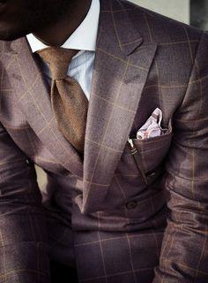 Groom Style: 2013 is the year of dapper, daring patterns - Wedding Party Style Gentleman, Gentleman Mode, Sharp Dressed Man, Well Dressed Men, Look Man, Skinny Ties, Groom Style, Suit And Tie, Looks Cool
