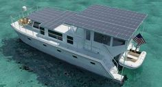 Not the Gore's solar houseboat, but shows the potential. Is there something wrong with Al Gore having a 100ft green solar powered houseboat? NO, if I could afford one that size, I'd have one also! He's done