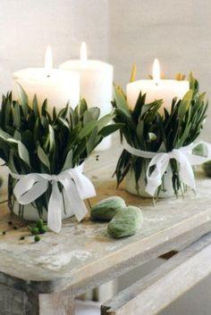 Best Wedding Reception Decoration Supplies - My Savvy Wedding Decor Deco Nature, Nature Decor, Deco Floral, Floral Design, Bridal Musings, Floral Arrangements, Table Arrangements, Christmas Diy, Christmas Candles