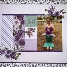 Creative Colour, Project Life, Scrapbooking Ideas, Scrapbook Layouts, Card Making, Frame, Projects, Amethyst, Cards