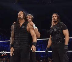 Dean Ambrose Shield, Roman Reigns Dean Ambrose, Wrestling Videos, Wrestling Wwe, Roman Reigns Gif, Wwe Quotes, Wwe Raw And Smackdown, Wwe Funny, Roman Regins