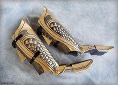 Protectores de pierna de Aquaman  cosplay DCU