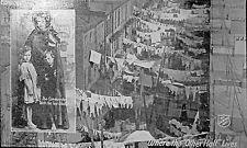 "World War 1 Salvation Army ""Where Other Half Lives"" Home Service Postcard Photo"