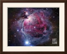 Whirlpool Galaxy Photographic Print: the Great Nebula in Orion Poster by Robert Gendler : - Helix Nebula, Orion Nebula, Andromeda Galaxy, Carina Nebula, Astronomy Topics, Space And Astronomy, Astronomy Stars, Cosmos, Nebula Wallpaper