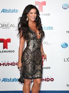 Gaby Espino in a beautiful dress