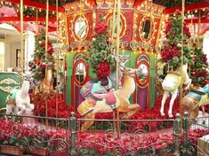 ChristmasCarousel | Christmas Carousel at the King of Prussia Mall