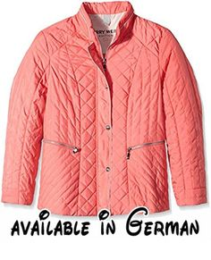 GERRY WEBER Edition Damen Steppjacke Jacke 330, Gr. 48, Rot (Coralle 60451). GERRY WEBER Edition Damen Jacke #Apparel #OUTERWEAR