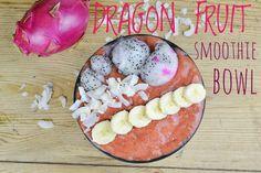 DRAGON FRUIT SMOOTHIE BOWL Good Smoothies, Juice Smoothie, Smoothie Bowl, Fruit Smoothies, Breakfast Time, Her Smile, Juices, Acai Bowl, Dragon