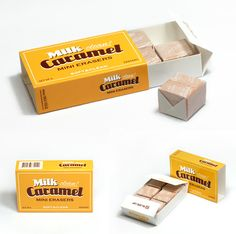 MochiThings.com: Milk Caramel Eraser