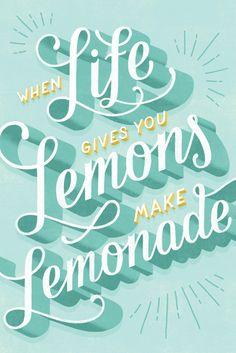 when life gives you lemons / lauren hom.