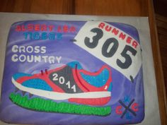 1000 Images About Cross Country Cake Ideas On Pinterest
