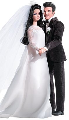 Bride Barbie Doll wedding dress · Vestido de novia de la muñeca Barbie