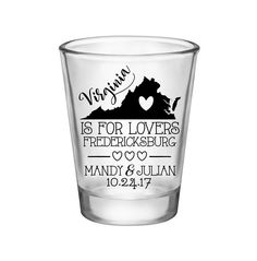 """100x Personalized Shot Glasses Wedding Favors 